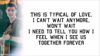 Shawn Mendes - Imagination (with Lyrics) [studio version]