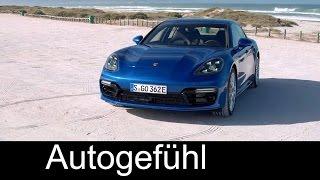 Porsche Panamera 4 E-Hybrid Preview Exterior/Interior 2017/2018 - Autogefühl