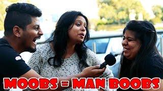 DELHI GIRLS ON MAN BOOBS | STREET INTERVIEW