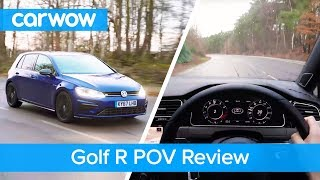 Volkswagen Golf R 2018 POV review | Test Drives