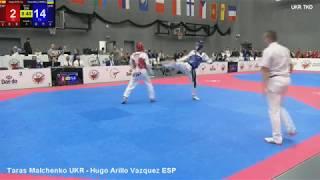 Taras Malchenko UKR - Hugo Arillo Vazquez ESP