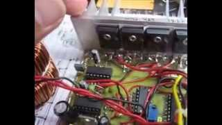 Home made SMPS 1000w pure sine wave inverter