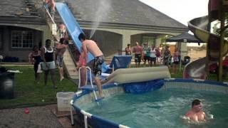 Greatest  Redneck water slide