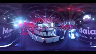 Filmare 360°: Florena - Behind the shadows (Eurovision România 2016)