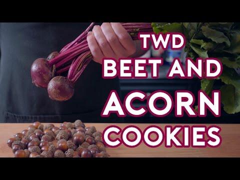 Binging with Babish Carol s Beet & Acorn Cookies feat. Ashwin Enjoys Nature