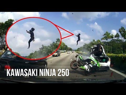 Xxx Mp4 DETIK DETIK Kecelakaan Maut KAWASAKI NINJA 250 VS Sedan Di Jalan TOL Singapura 3gp Sex