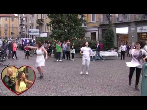 Flash Mob marriage proposal Marco & Eleonora Milano