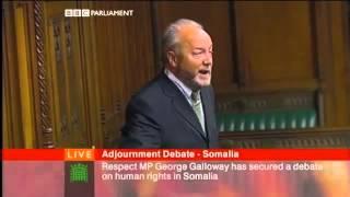 George Galloway Speaks on Somalia