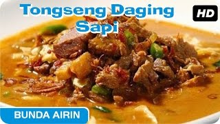 Tongseng Daging Sapi Resep Bumbu Dapur Indonesia Bunda Airin - Enak Dan Lezat