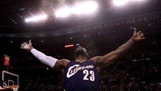 'King James' returns, Cleveland rejoices