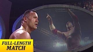 FULL-LENGTH MATCH - SmackDown - The Rock vs. Kurt Angle