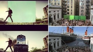 Top 15 Bollywood & Hollywood Films: Before And After VFX Pictures