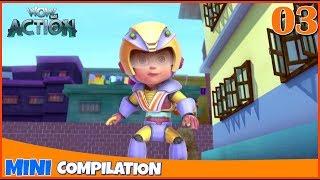 Vir The Robot Boy | Mini series | Compilation - 03 | 3D cartoon for kids | WowKidz Action