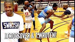Tony Wroten & Jamal Crawford Show OUT at The Crawsover w/ Isaiah Thomas Watching!!