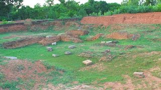Ruins: Palace Of The Indian King Rajendra Chola - Multi-storied Building & Chinese Connection