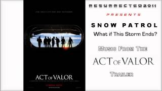 Song from Act of Valor trailer -