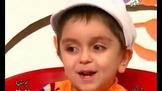 حاضرجوابی یک پسر بچه بامزه در مورد بیماریها
