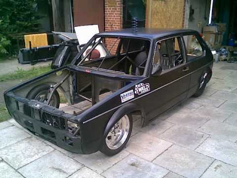 VW Rabbit MK 1 Rotary 13B PP Methanol Turbo Full Tube Chassis