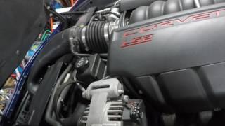 C6 Corvette Harmonic balancer replacement