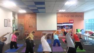 4 Động Tác Yoga trong bài súc ruột