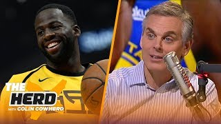 Colin Cowherd on Draymond's future with Golden State, Fultz's role in Philly | NBA | THE HERD