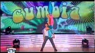 Showmatch 2010 - Emilia Attias, una ráfaga en la cumbia