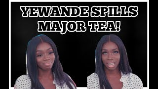 LOVE ISLAND : YEWANDE SPILLS MAJOR TEA! DANNY IS A F* LIAR!