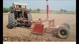 tractor videos-tractor working in farm massey ferguson 375 millat tractors