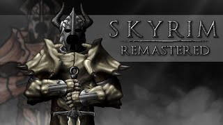 The Senile Scribbles: Skyrim Remastered (Speed Art)