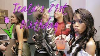 Teala Dunn's 21st Birthday Party!!
