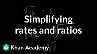 Simplifying radicals   Exponents, radicals, and scientific notation   Pre-Algebra   Khan Academy