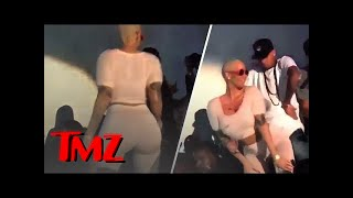 Amber Rose – All Up On Chris Brown! | TMZ