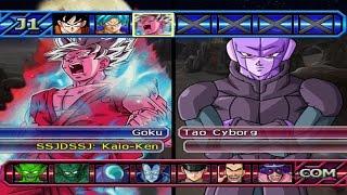 Dragon Ball Z Budokai Tenkaichi 3 - Goku SSGSS Kaio-ken VS HIT Red Potara *Epic Battle (1080p)