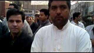 tariq teddy with nisar ahmad
