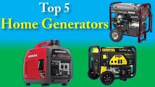 Top 5 best Home Generators in 2018 || 5 best Home Generators Reviews ||