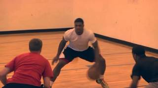 The Med Ball Concentration Ball Handling Drill with Pat Miller