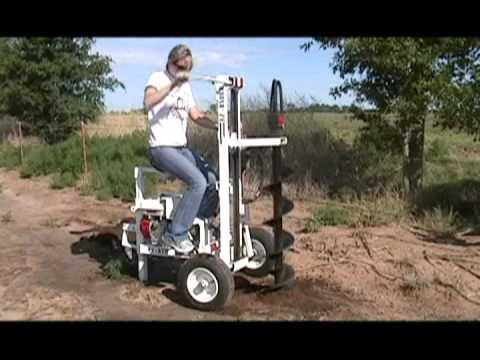 E Z Ryder Earth Drill Demo