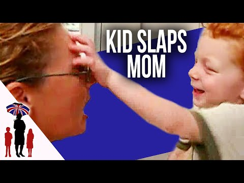 Kid Slaps Mother In The Face - Supernanny US