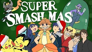 Original Smash Bros Christmas Animation | 12 Days of Smashmas | ArcadeCloud