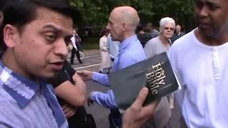 P2 - Spirit God!? Mansur Vs Christian | Old is Gold | Speakers Corner | Hyde Park