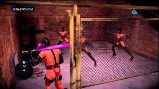 114 Saints Row IV Hardcore Walkthrough HD PS3 (Enter The Dominatrix DLC) The Sex Club