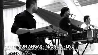 Hamayoun Angar - Majnun Live