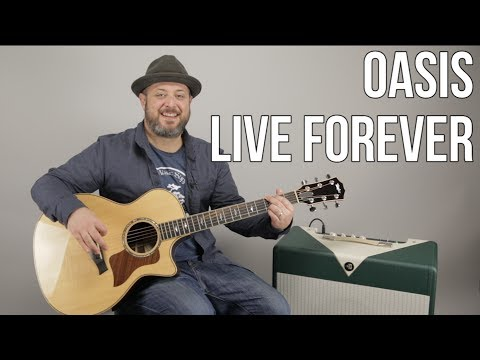 Xxx Mp4 How To Play Live Forever By Oasis On Guitar Easy Acoustic Songs 3gp Sex