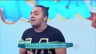 Tirulipa fala do irmão baitola no programa Hora Do Faro,kkkkkkkkkkkkkkk
