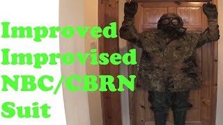 Improvised and improved CBRN suit MK2