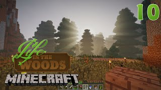 Modded Minecraft - Life in the Woods E10 - Settling in