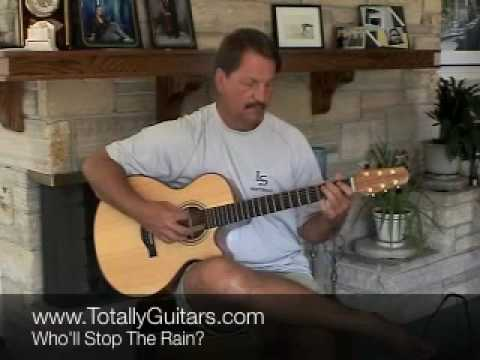 Who'll Stop The Rain guitar lesson