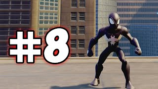 DISNEY INFINITY 2 MARVEL SUPERHEROES - ULTIMATE SPIDER-MAN PLAYSET - PART 8