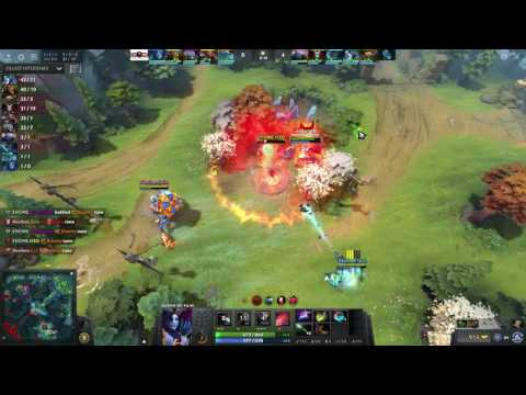EHOME vs Newbee Game 2 - Sccc Queen of Pain POV - Dota 2 Professional League 2016