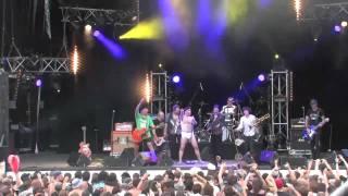 Elmer Food Beat feat. Babylon Circus brass - Daniela @ Lez'Arts Scéniques 2010, Sélestat